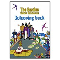 The Beatles Cartoon イエロー Submarine 公式 新しい Colouring Book