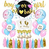 ゴールド ベビーシャワー 飾り付け セット 可愛い パーティーデコレーション 赤ちゃん 女の子 男の子 ピンク 出産祝い バナー 風船 ケーキトッパー アルミバルーン 36セット