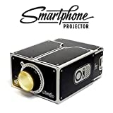 Luckies of London DIY Smartphone Projector Black Color