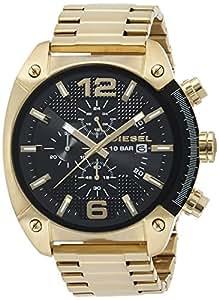 [ディーゼル] 腕時計 DZ434200QQQ 正規輸入品 ゴールド