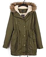 モッズコート フード付き 中綿モッズコート レディース ファーコート 暖かい 防寒コート アウター