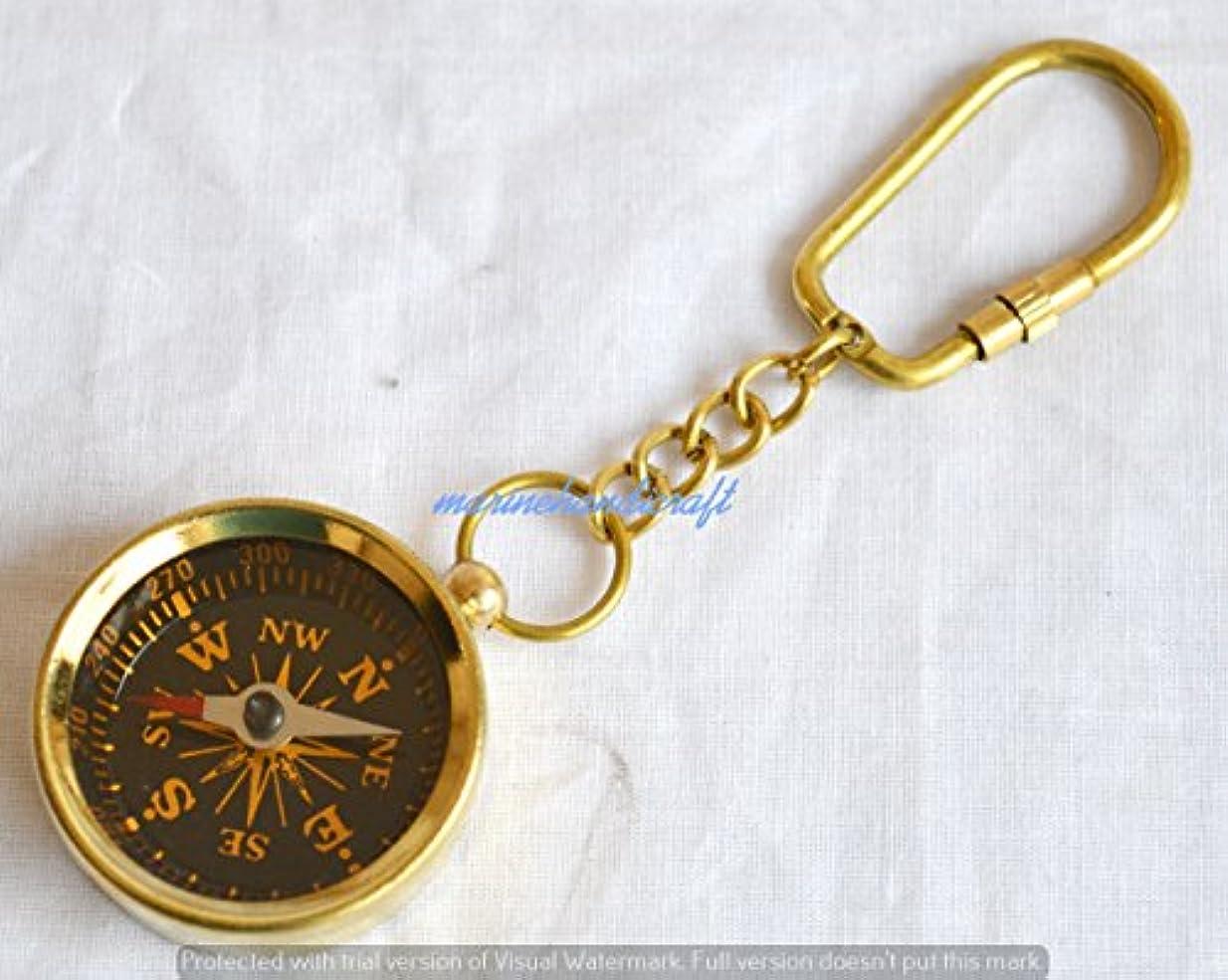 意気消沈した人里離れた出身地Humaira nauticalbrass Collectableポケットcompass-hiking compass-nauticalキーチェーン