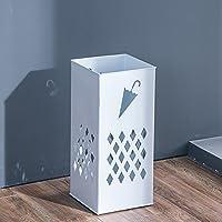 KFXL 傘スタンド/アイロン/傘収納桶/傘収納棚/多機能傘スタンド棚(23 * 23 * 50cm)(3色展開可能) (色 : 白)