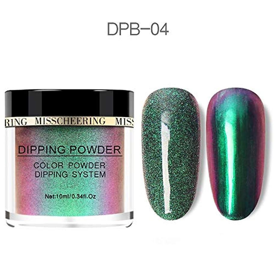 真実インセンティブ権利を与えるChameleon Wetting Nail Powder Dipping Glitter Decoration Holographic Color Aurora Mirror Effect Neon Glitter Natural...