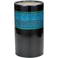 九谷焼 陶器 傘立て 釉彩