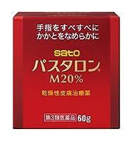 【第3類医薬品】パスタロンM20% 60g