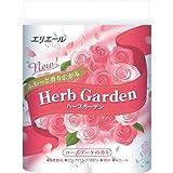 エリエール トイレットペーパー ハーブガーデン ローズ 30m×4ロール 3枚重ね パルプ100% ローズブーケの香り
