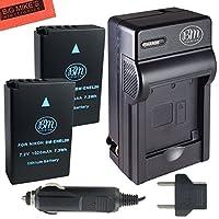 Bm Premium en-el20、en-el20aバッテリとバッテリ充電器for Nikon dl24–500, Coolpix A , 1aw1、1j1、1j2、1j3、1s1、1V3デジタルカメラ
