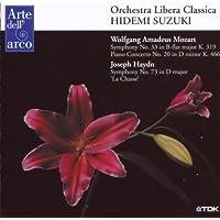"Mozart: Symphony No.33, Piano Concerto No.20; Haydn:Symphony No.73 ""La Chasse"""