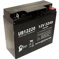 Gs PORTALAC PE1512 互換バッテリー : Gs UB12220 シールド鉛蓄電池 バッテリー対応 (22Ah, 12V, SLA, AGM)