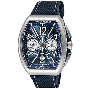 [フランクミュラー]FRANCK MULLER 腕時計 ヴァンガード ブルー文字盤 V45 CCDT YACHT CH メンズ 【並行輸入品】