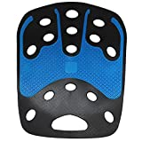BackJoy(バックジョイ) 骨盤サポートシート テック ジェル レギュラーサイズ ブラック/ブルー【正規品】 BJTGS001