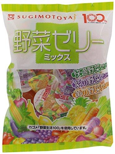杉本屋 21個入野菜ゼリーミックス 462g
