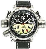 """[エアロマティック1912]Aeromatic1912 腕時計 パイロットDEFENDER""""ワールドツアー""""GMT A1338 [並行輸入品]"""