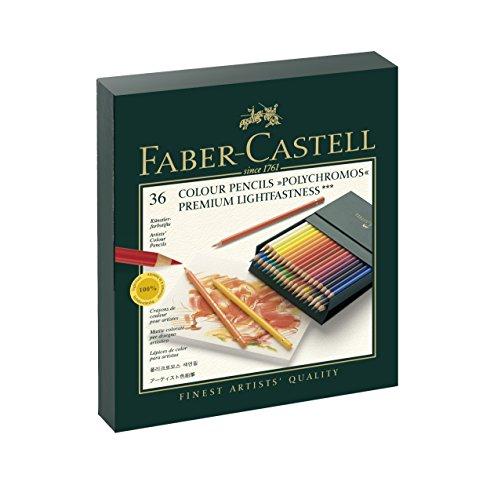 ファーバーカステル ポリクロモス色鉛筆 36色セット スタジオボックス