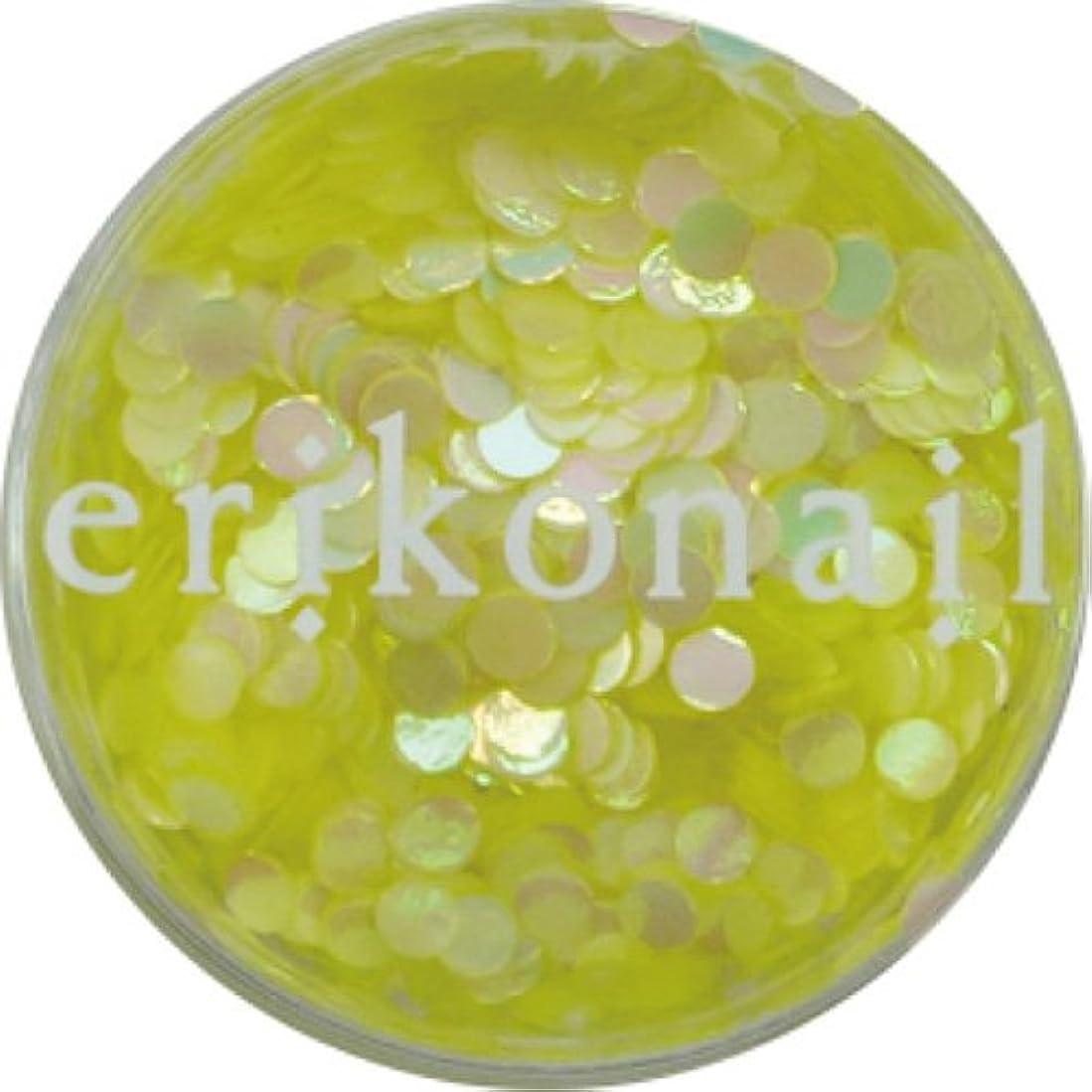 外側の面では質素なerikonail ERI-211 パステルパールイエロー2mm
