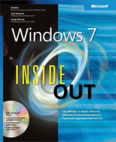 『Windows 7 Inside Out (English Edition)』のトップ画像
