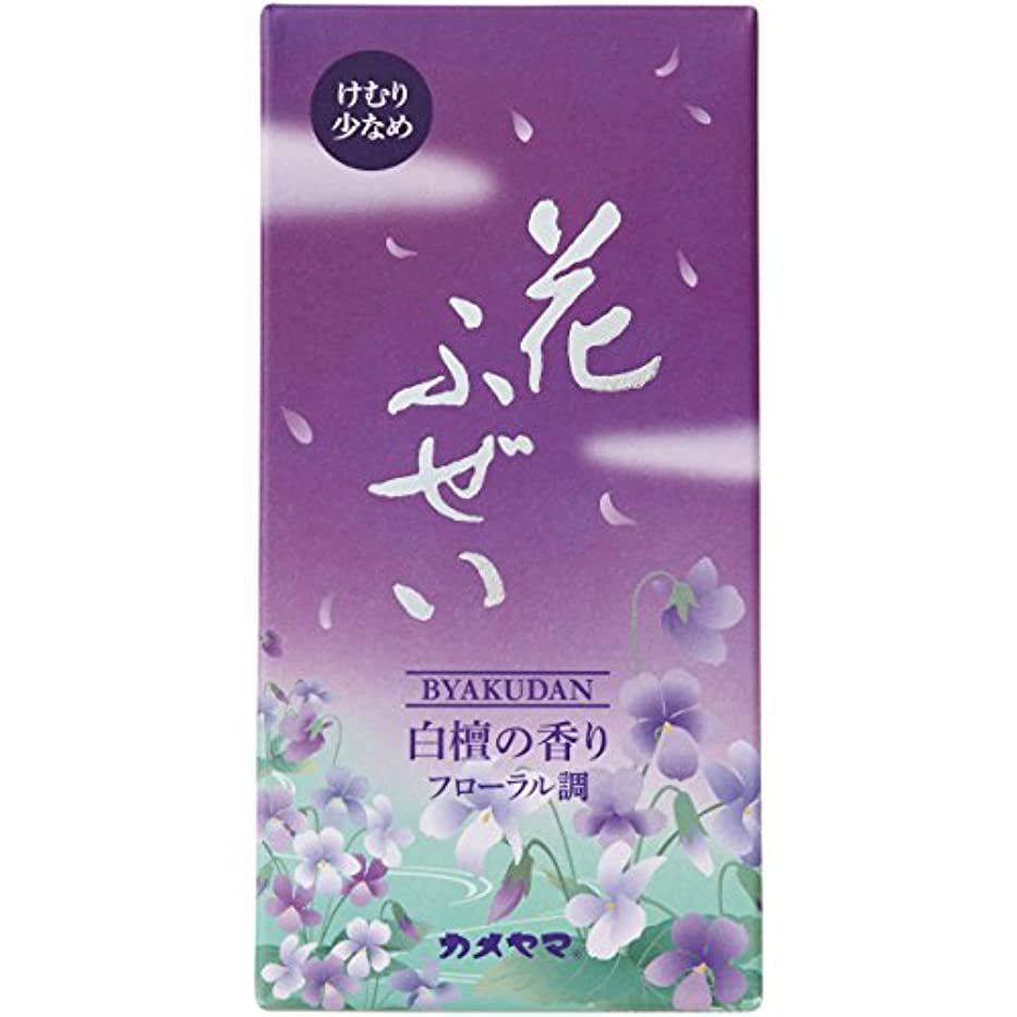 雷雨ナプキン実際にカメヤマ 花ふぜい(紫)煙少香