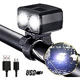 自転車LEDライトDARKBEAM フロントライト ヘッドライト USB充電式 高輝度5モード 自転車前照灯 懐中電灯 アルミ合金製 防水 小型 軽量 着脱簡単 アウトドア専用