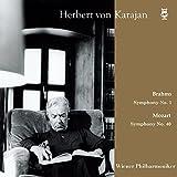 カラヤン | ウィーン・フィル / ブカレスト・コンサート 1964 ~ モーツァルト : 交響曲 第40番 | ブラームス : 交響曲 第1番 (Brahms : Symphony No.1 | Mozart : Symphony No.40 / Herbert von Karajan | Wiener Philharmoniker) [2LP] [Live Recording] [Limited Edition] [日本語帯・解説付] [Analog]