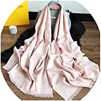 "Mintrayor Fashion Luxury Cashmere/Wool Scarf Warm Large Long scarves Silk Shawl for Women Men(70.9""x27.6"")"