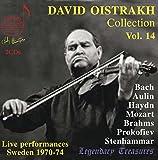 ダヴィッド・オイストラフ・コレクション Vol.14 / ライヴ・パフォーマンス・イン・スウェーデン 1970-40 (David Oistrakh Collection Vol.14 / Live performances Sweden 1970-74) (2CD) [輸入盤]