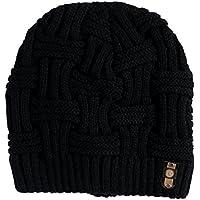 Kingrock Winter Beanies Bonnet Knit Hat Men Women Beanie Solid Cap
