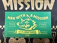 MAN WITH A MISSION ステッカー 約9×5cm DJサンタモニカカラー 緑 福袋