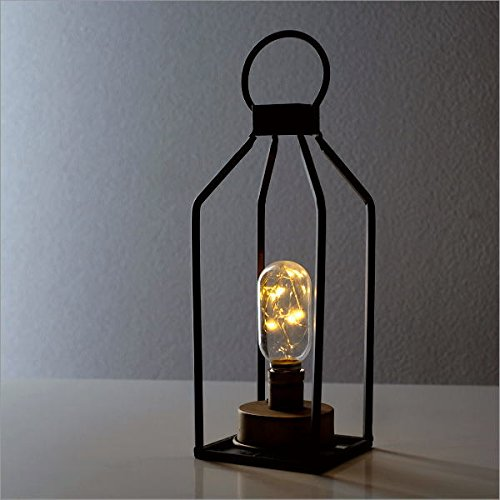 ランタンライト LED インテリアランプ テーブルランプ 卓上ランプ スタンド 照明 おしゃれ シャビー アンティーク レトロ シンプル LEDランタンライト [ebn4888]