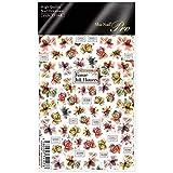 PARTS SHA-NAIL(パーツ写ネイル) Sha-Nail Pro Kanae Ink Flowers 1枚