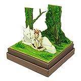 さんけい スタジオジブリmini もののけ姫 サンと山犬 ノンスケール ペーパークラフト MP07-45
