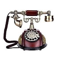 awakingdemiレトロヴィンテージEuropean固定固定電話電話コード付き電話アンティーク工芸品 116-3 2sv2yy2sf2xa9tw4D03