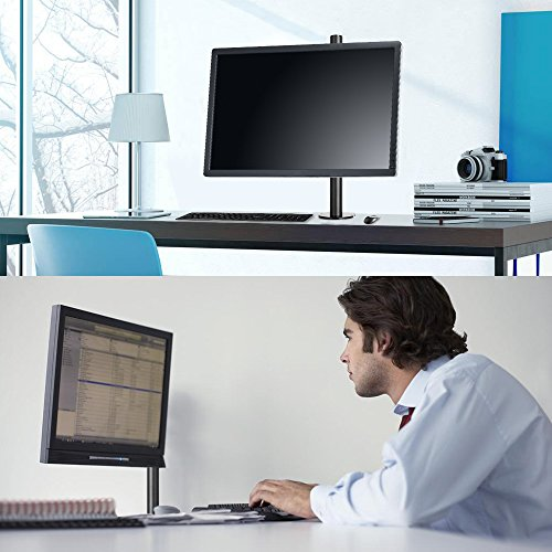 『BESTEK PC モニター アーム 液晶ディスプレイ アーム クランプ式 水平多関節 17-27インチ対応 BTSS01BK』の7枚目の画像