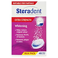 Steradent Denture Cleaning Tablets Arctic Tablets 48 Pack