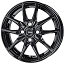 【タイヤ ホイールSET 4本セット】 軽量モデル G.speed G-02 メタリック ブラック 14インチ 軽自動車用 4.5J 45 DUNLOP ENASAVE EC202L 155/65R14 ムーブ/タント/ワゴンR/N-BOX/N-ONE ジースピード ホットスタッフ ダンロップ エナセーブ 国産タイヤ BK JWL 鋳造 ワンピース