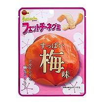 ブルボン フェットチーネグミすっぱい梅味 50g ×10袋
