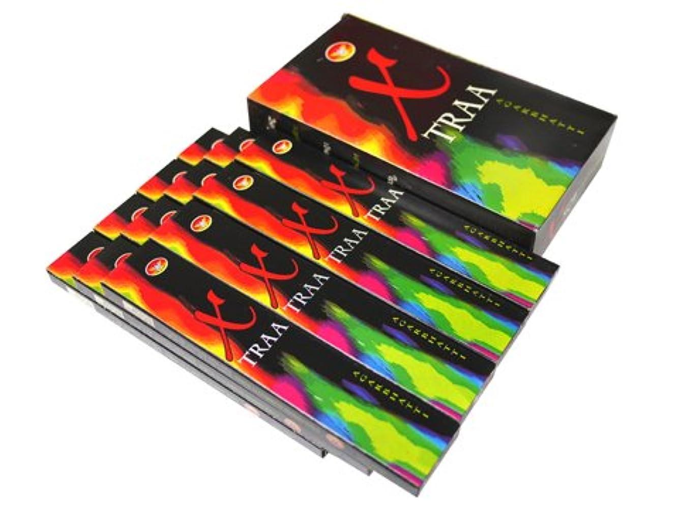 熱狂的な赤面わずかなGAJALAKSHMI(ガジャーラクシュミー) Xタラ香 スティック X TRAA 12箱セット