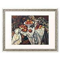ポール・セザンヌ Paul Cézanne 「リンゴとオレンジ Still life with apples and oranges. About 1895/1900」 額装アート作品