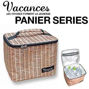 【SPICE】バカンスククーラーランチバッグL(PANIER/パニエ)天然素材のバスケットのようなクーラーバッグ