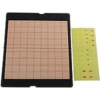 monkeyjack JapaneseチェスClassical将棋ゲームセット木製ボードテーブル旅行ゲームポータブル