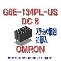オムロン(OMRON) G6E-134PL-US DC5 (25個入) マイクロリレー NN