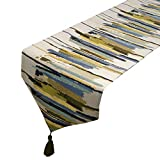 Table runner, Color Stripes Abstract Restaurant Decorative Table runner, Restaurant And Home Use, 2 Colors 3 Sizes To Choose From (Color : B, Size : 30 * 160cm)
