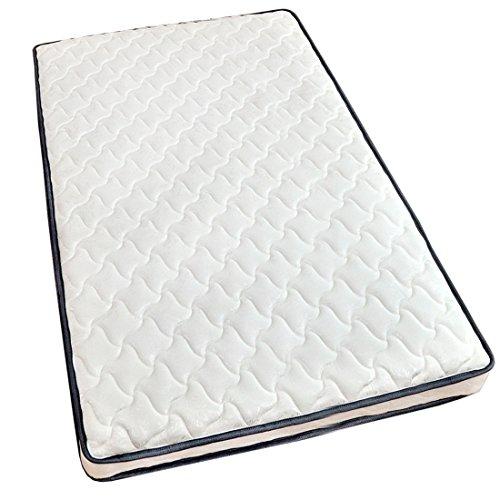 タンスのゲン ポケットコイルマットレス セミダブル 高密度589個 ホワイト 17800007 01