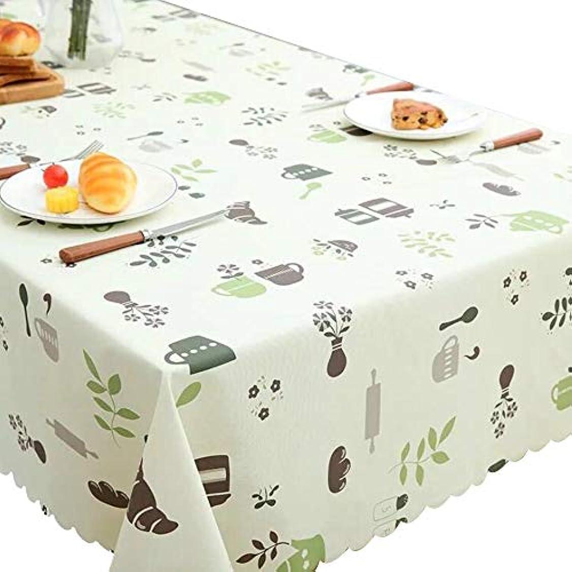 ストレッチ混雑辛なHANSHAN テーブルクロス テーブルクロスは、防水耐油PVC卓上プロテクターコーヒーテーブルは、テーブルラウンドテーブルクロス防塵テーブルカバー135×180cmのダイニング (Color : D, Size : 120×120 cm)