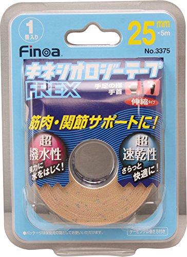 Finoa(フィノア) テーピング サポート用 伸縮テープ BP キネシオロジーテープ 3375 2.5cm