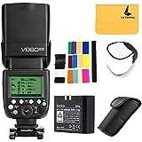 Godox V860II-C TTL Canon Camera Flash Speedlite 2.4G Wireless HSS 1/8000s Li-ion Battery Compatible for Canon 6D 7D 50D 60D 500D 550D 600D 650D 1DX 580EX II 5D Mark II III (Godox V860II-C)