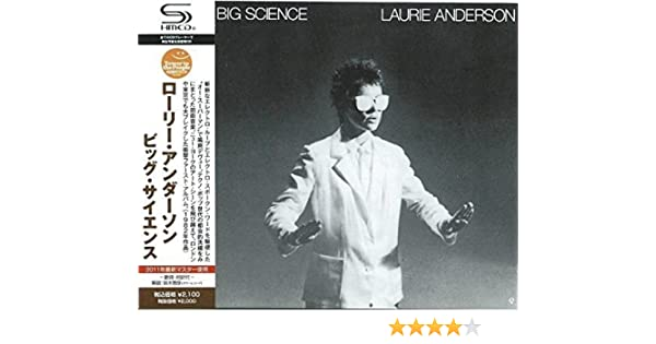 Amazon Big Science Laurie Anderson ロック 音楽