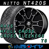 20インチ 4本セット タイヤ&ホイール ニットー(NITTO) NT420S 245/45R20 レイズ