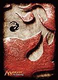 マジック:ザ・ギャザリング プレイヤーズカードスリーブ マナシンボル《山》 MTGS-020