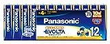 Panasonic EVOLTA 単4形アルカリ乾電池 12本パック LR03EJ/12SW